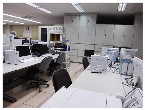 事務所の風景